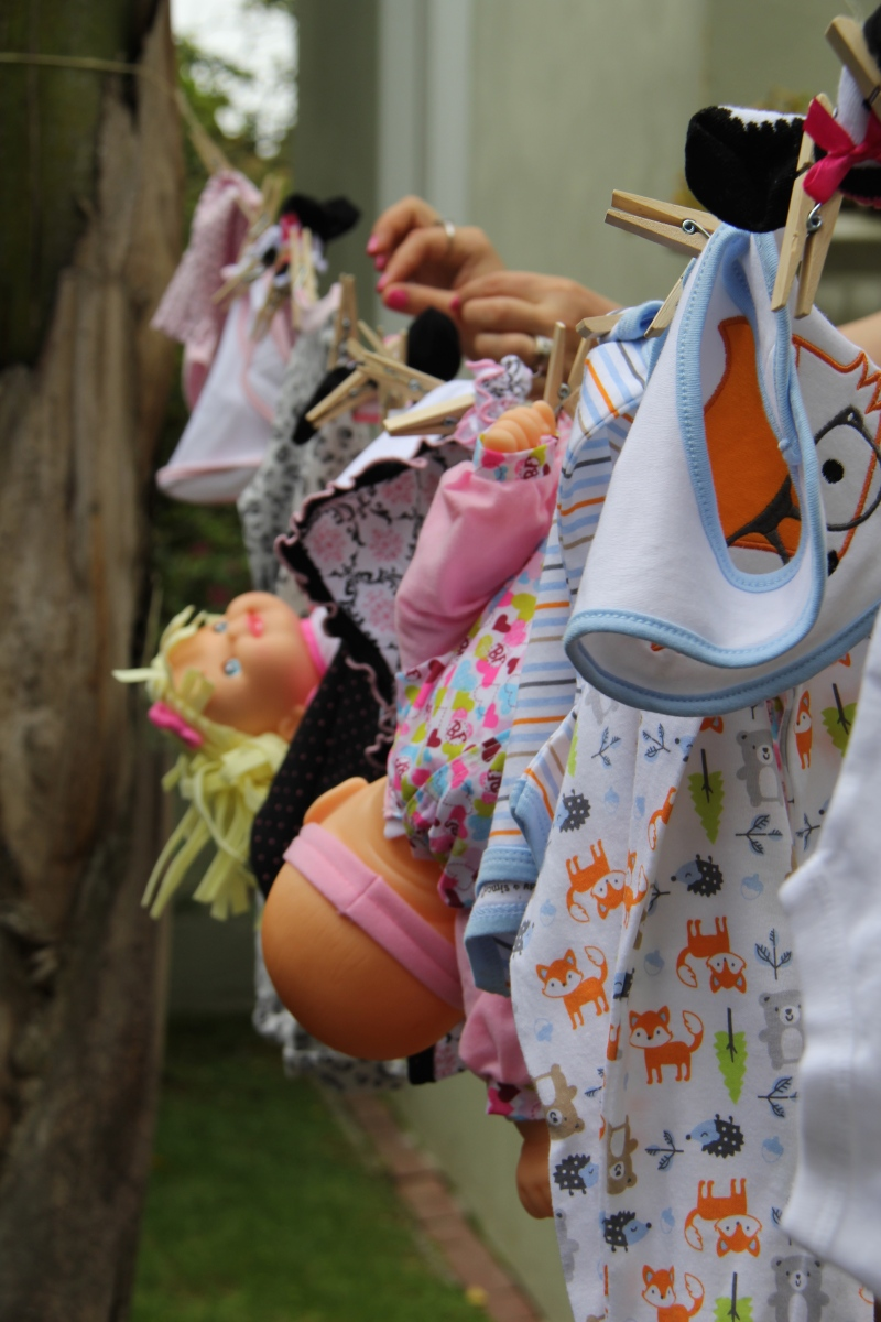 Baby Laundry Relay 3