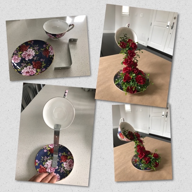 Constructing Floral Floating Cup