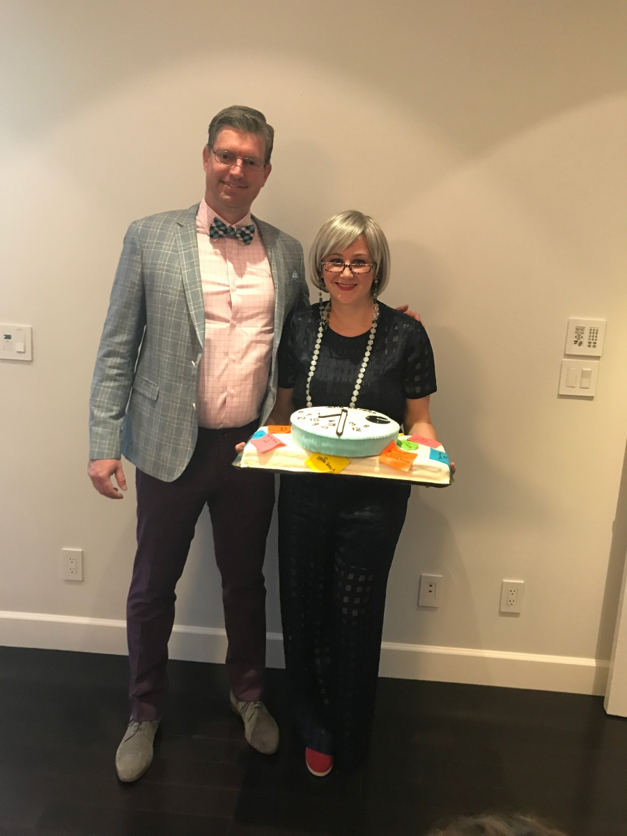 retirement cake party