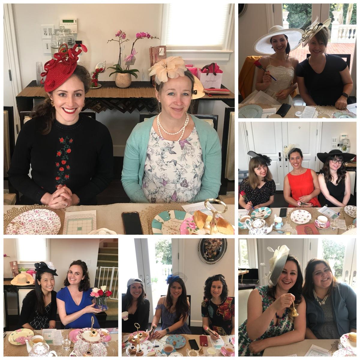 Lovely tea party ladies