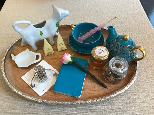 Tea Party Memory Tray